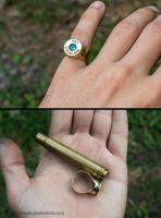 ring of bullets 375 HH Magnum by MoranaDeath