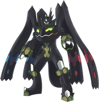 TCG Perfect Zygarde Commission by AutobotTesla
