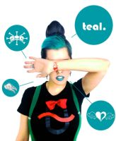 The Real Teal by AlinaJames