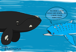 Right Whales are Always Right by Ariaera