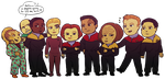 VOY chibis by beedwise