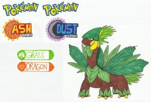 Mega Tropius - Pokemon Ash and Dust by ProtoTypedKnife