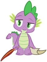 [MLP VECTOR] Spike-bored01 by Light262