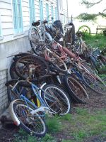 Rusty Bikes 2436361 by StockProject1