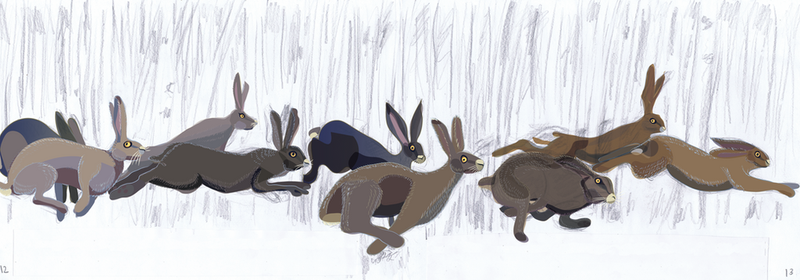 Harestory: new improved hares by Starsong-Studio