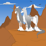 The King And Queen Of The Mountain by BambisParanoia