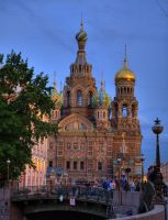 Cathedral of Our Savior on Spilled Blood by Foto-Hunter