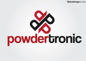 Powdertronic Logo by MadDesign