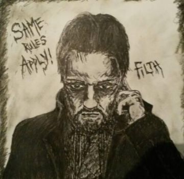 Bruce Robertson (James McAvoy) from the film Filth by OpticWonder