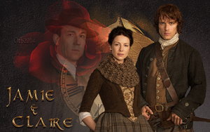 Outlander ~ Jamie and Claire by OTBWriter