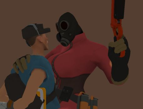 BLU Scout Interrogated by IAMCHEESE22