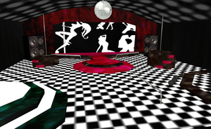 MMD Strip Club download by amiamy111