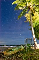 Stars over Karimunjawa by lansakit