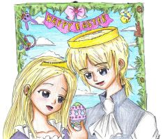 The AnimeLord + Lady Easter by Nenie