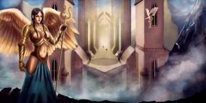 Angels of the Hidden City by havokreed