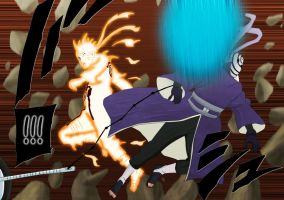 naruto 596 naruto vs tobi by anime1459