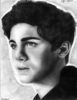 Logan Lerman Drawing 2 by ashleymenard122