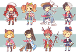 TINY ADOPTS BATCH 1 (CLOSED) by Sychandelic