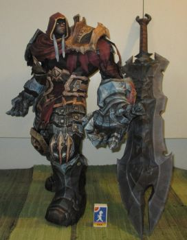 War from Darksiders papercraft 2 by minidelirium