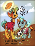 We like sportz - Snips and Snails by Velexane