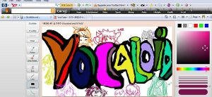 Vocaloid Graffiti on iScribble by TeapotTritium