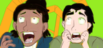 A duo of Manly screams by PinkiePieGummy101