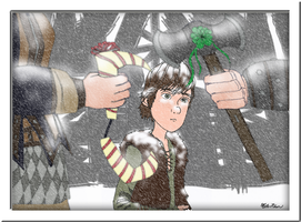 Hiccup's Christmas Gift Part 1 by masterrohan