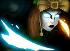The Avatar Kyoshi by williamcjones48