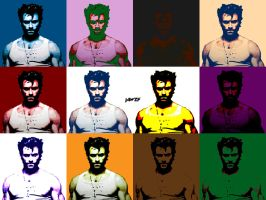 Wolverine Pop Art by jawzf
