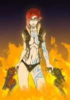 Borderlands Lilith by Blunt-Katana