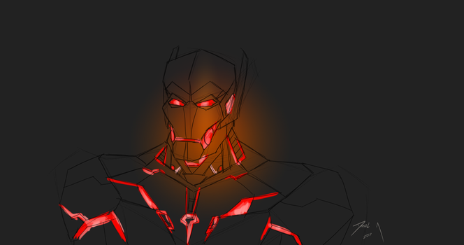 Day 291-Ultron by Dan21Almeida95