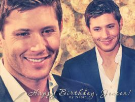 Happy Birthday, Jensen! by Nadin7Angel