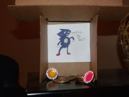 sanic shrine by Ink--Chan