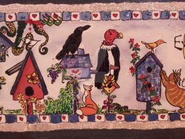 Every Birdie's Welcome detail 5 by Dragonmum