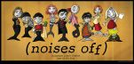 Noises Off Sardine Cast Poster by MelissaFindley