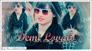 Demi Lovato graphic 03 by remember-the-silence