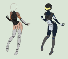Pixel Outfit Adopts - Fantasy And Future - SOLD by ShadowInkAdopts