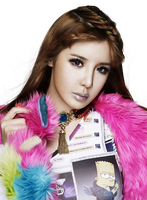 Bom (2NE1) png[render] by Sellscarol