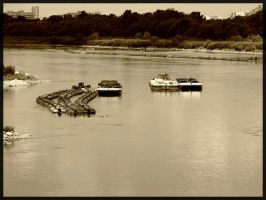 barges by Mierzeja