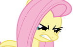 Fluttershy Getting Mad by Uponia