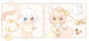 AUCTION :: Double Trouble [ Closed ] by Devi-Adopts