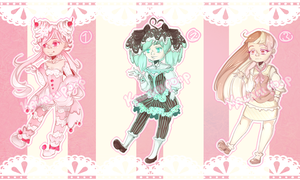Ice Cream Adoptables: 6$/600points EACH [CLOSED] by Kawaiiipoop