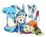 frozen y pokemon by kirajan