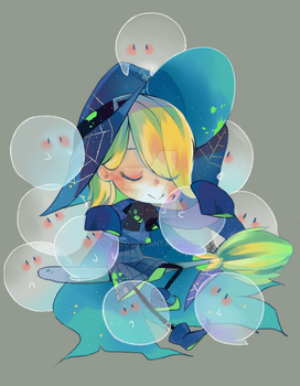 surrounded by ghosts by Sei00
