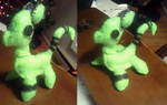 Plushie Comm - Paramore OC by cysir