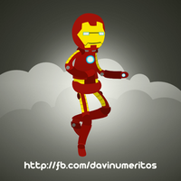 Iron Man by le-numeritos