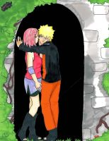 comission:narusaku by narutine