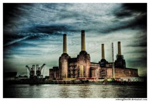 Battersea Power Station by robertgilbert86