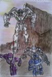 Autobots to attack !! by GUILLERMOTFMASTER