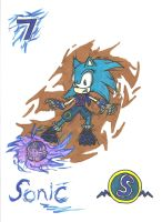 Sonic Strikers: Sonic by Oblivion69